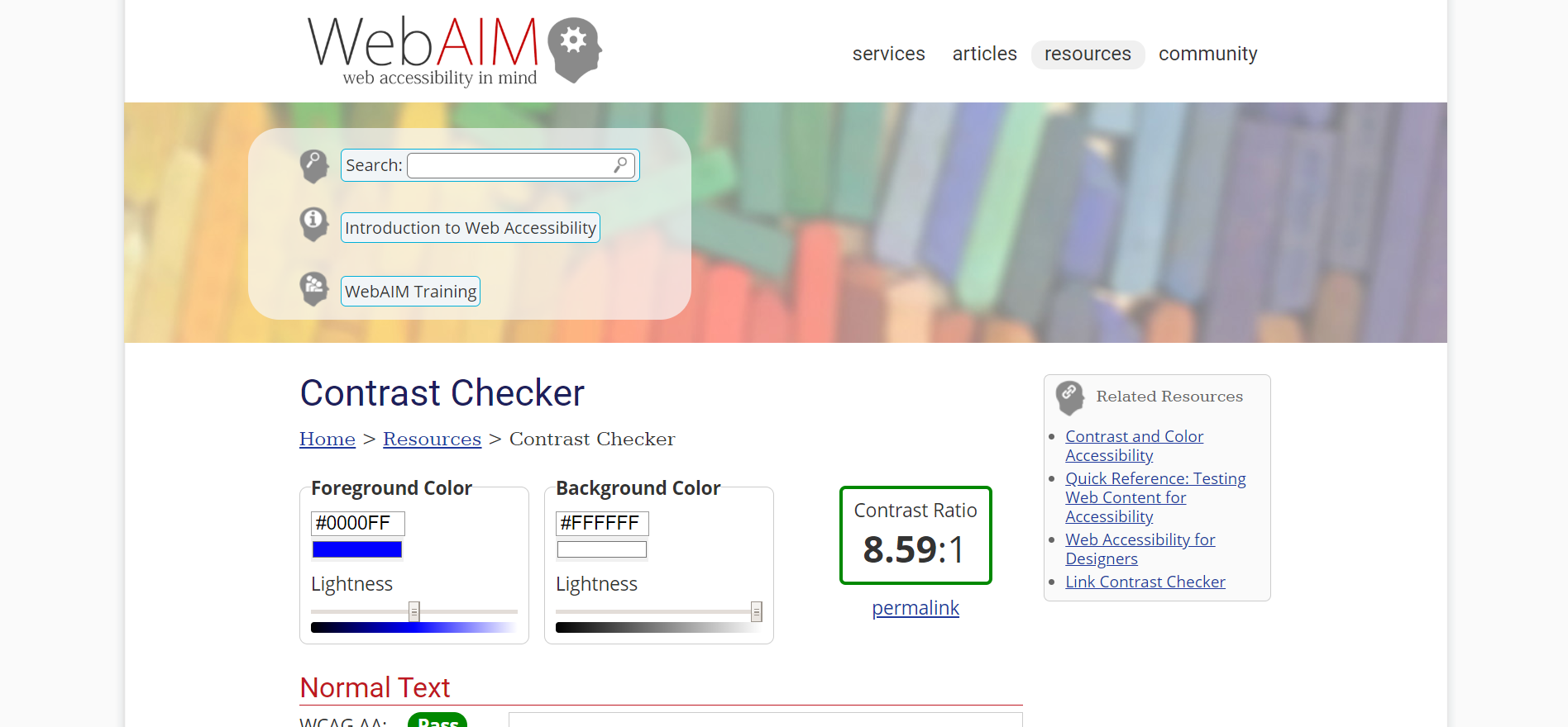 Web AIM