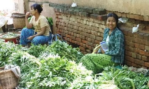 ミャンマー取材でいったニャンウーマーケット